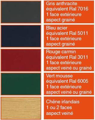 Nos couleurs pvc for Couleur ral caen